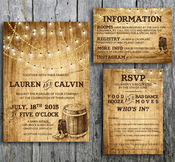 Country Wedding Invitation 2344957