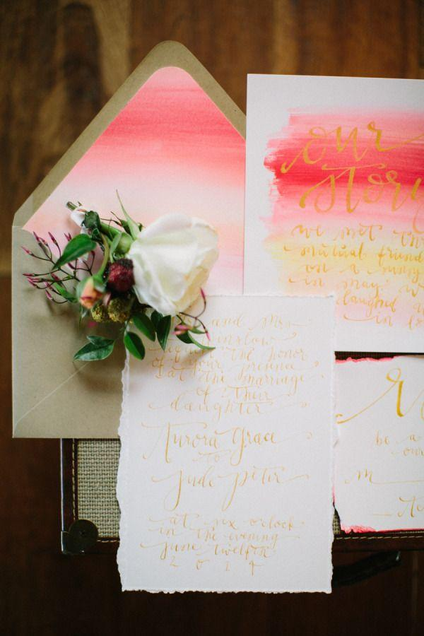Mariage - Pretty Envelope Liners