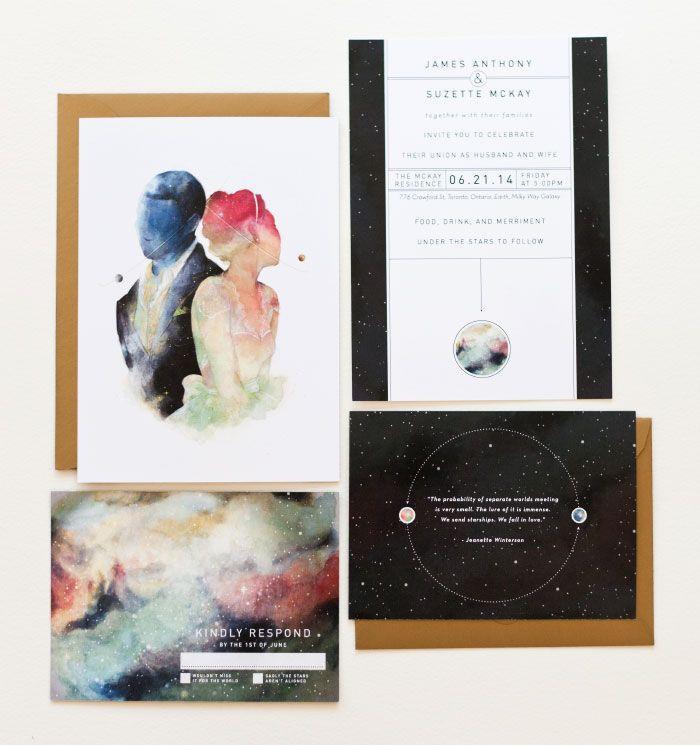 Mariage - Modern Invites   Paper
