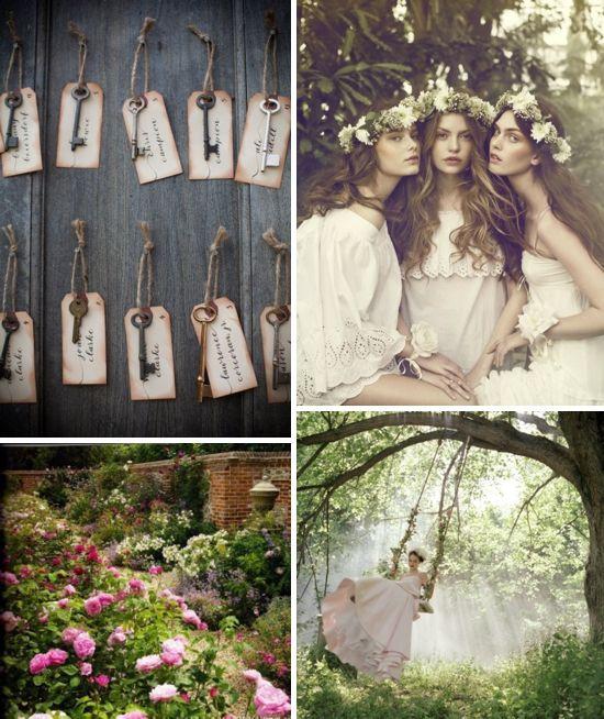 A Secret Garden Wedding Inspiration