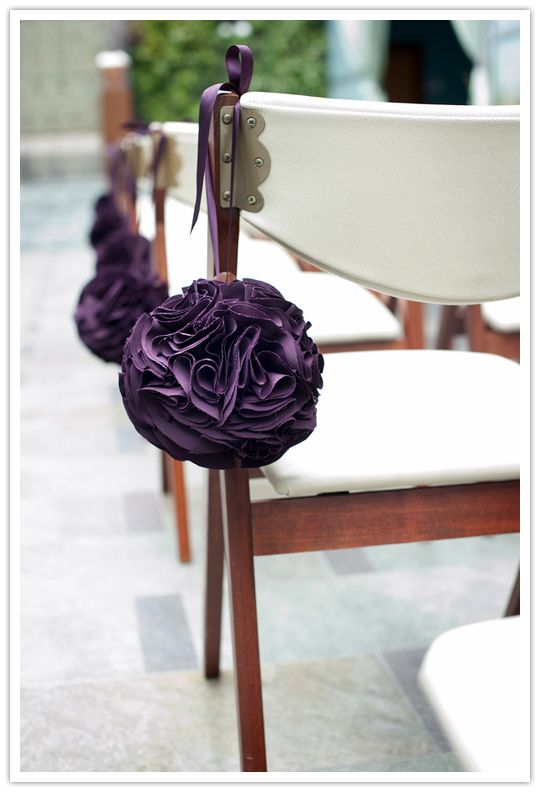 Mariage - DIY Fabric Poms - Once Wed