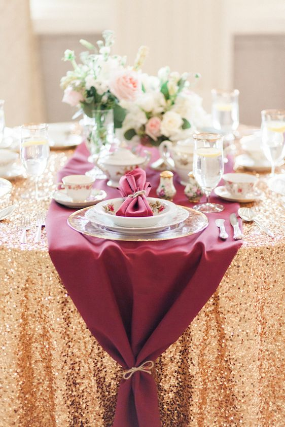 Wedding - Pantone's Color Of The Year, Marsala! A Styled Shoot