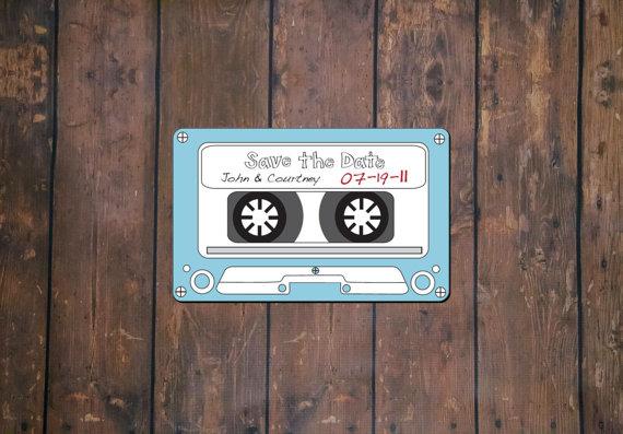 زفاف - Cassette Save The Date