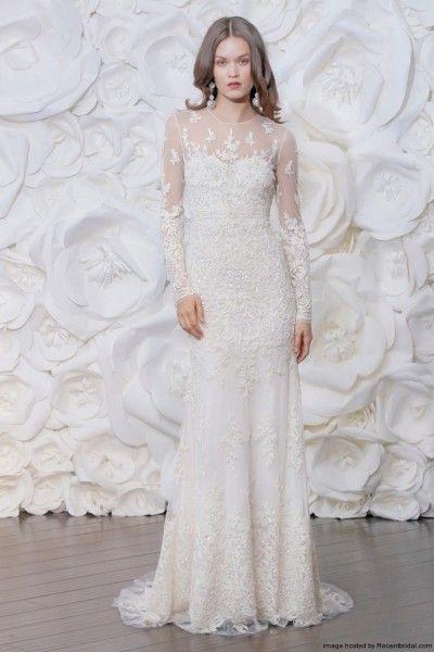 Hochzeit - Long Sleeved & 3/4 Length Sleeve Wedding Gown Inspiration