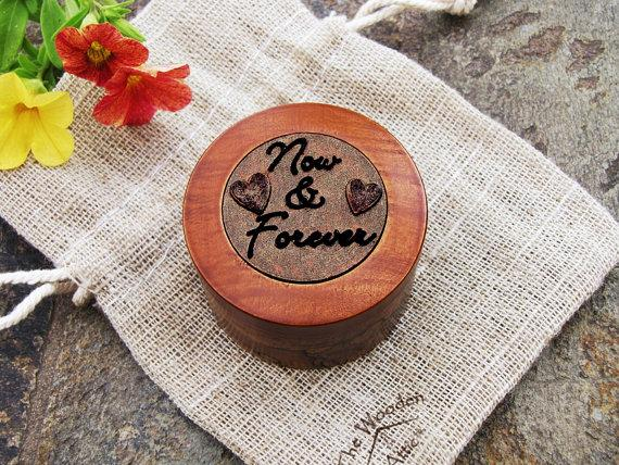 Wedding - Proposal Ring box, Engagement Ring Box, Wedding Ring Box, Keepsake Box, Ring Bearer Box, Ring Box