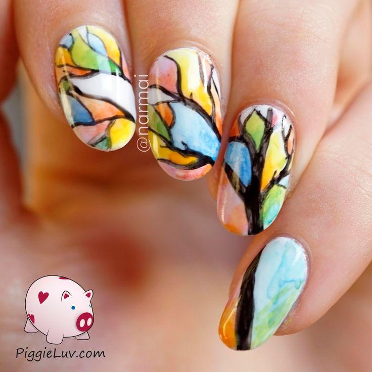 Clouer Aquarelle Tree Nail Art 2346765 Weddbook