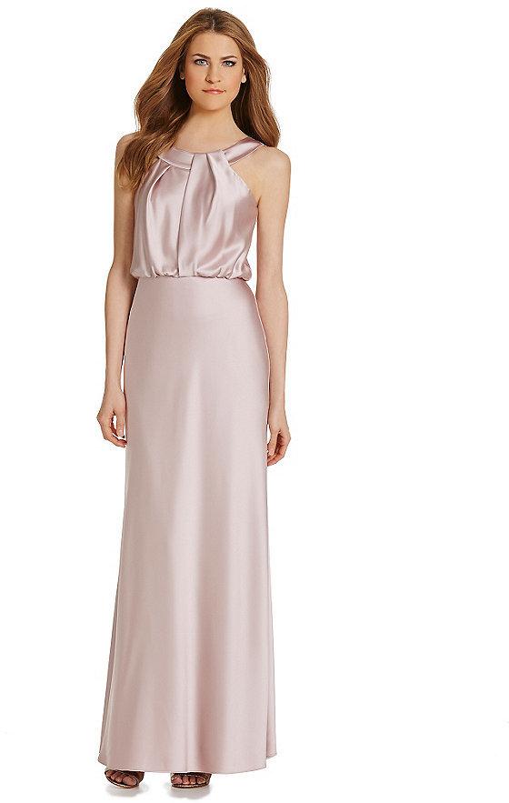 Calvin Klein Sleeveless Blouson Gown