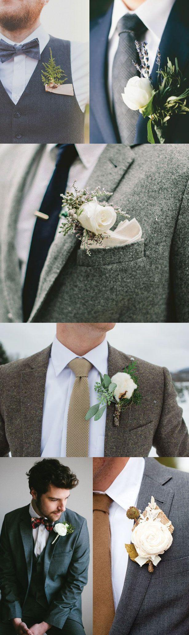 Hochzeit - Winter Groom's Style Guide