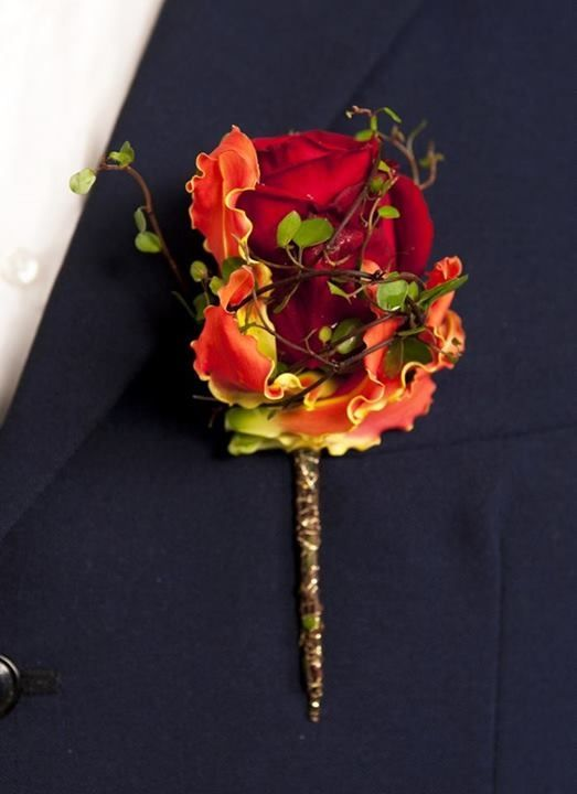 Wedding - Suit Flowers