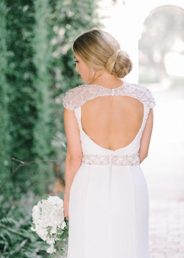 Wedding - 20 Peekaboo Back Dresses Worth A Double-Take