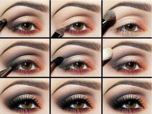 Свадьба - 11 Makeup Tutorials For Brown Eyes - Fashionsy.com