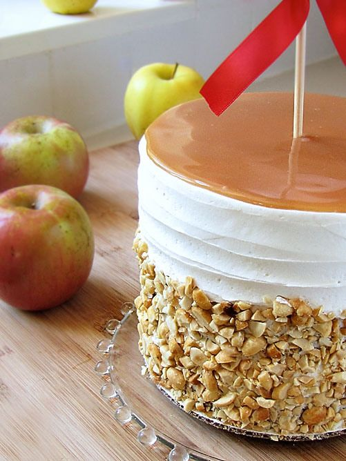 زفاف - Caramel Apple Wedding Cake