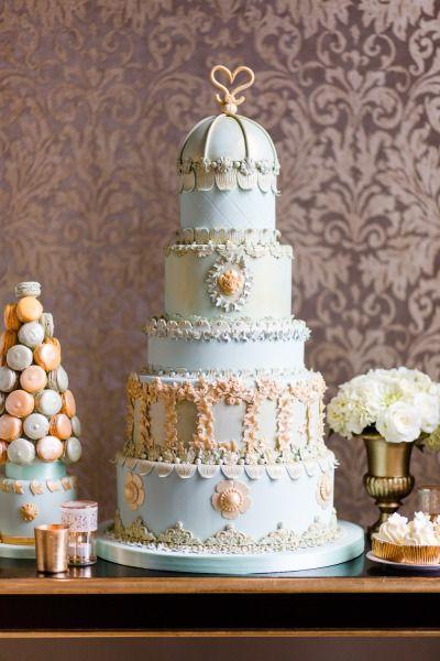 Фото свадебных тортов знаменитостей