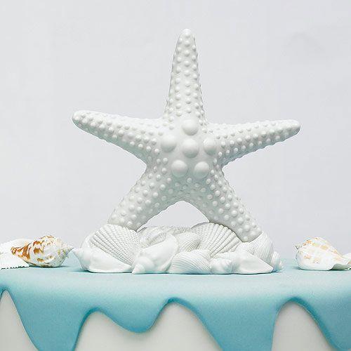زفاف - Starfish Cake Topper