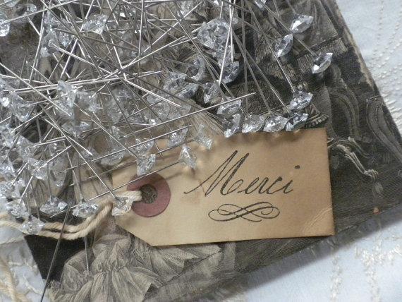 Mariage - Crystal Bling Straight Pins