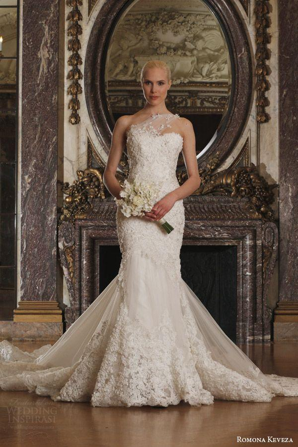 Mariage - Romona Keveza Luxe Bridal Collection Spring 2016 Wedding Dresses