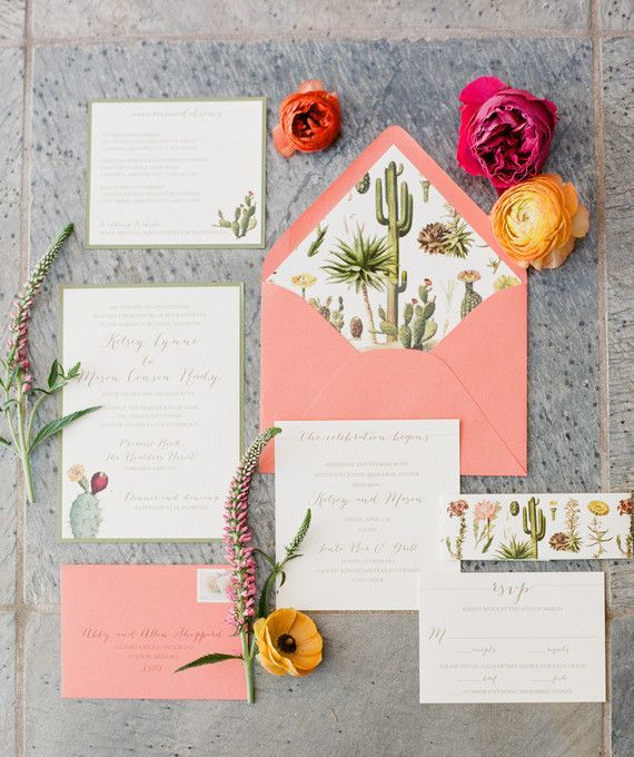 Mariage - Colorful Arizona Wedding