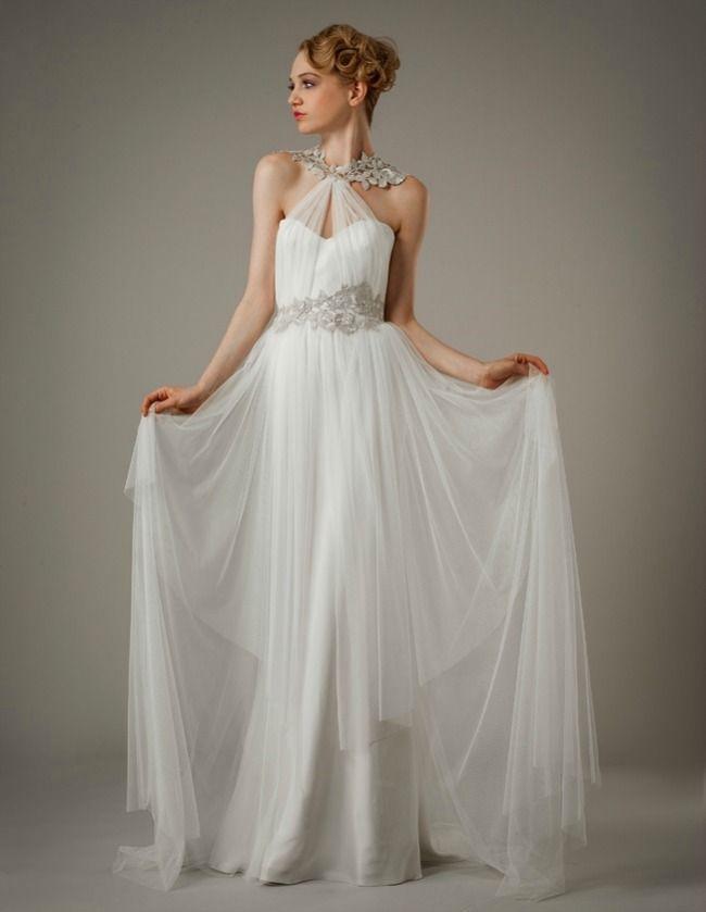 زفاف - 7 Swoon-Worthy Grecian Wedding Gowns - Bajan Wed