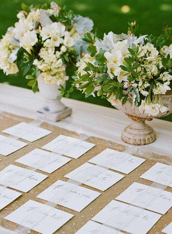 Mariage - Escort Cards And Escort Tables