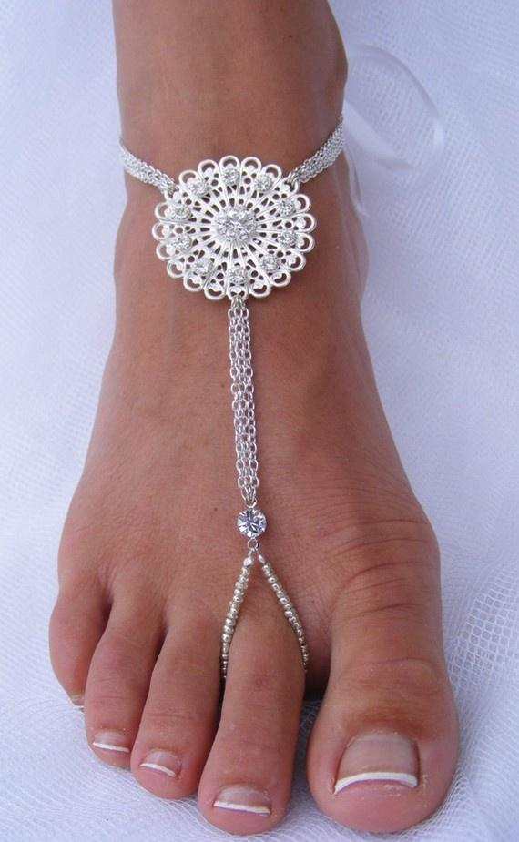 Beach Wedding Bridal Sandals