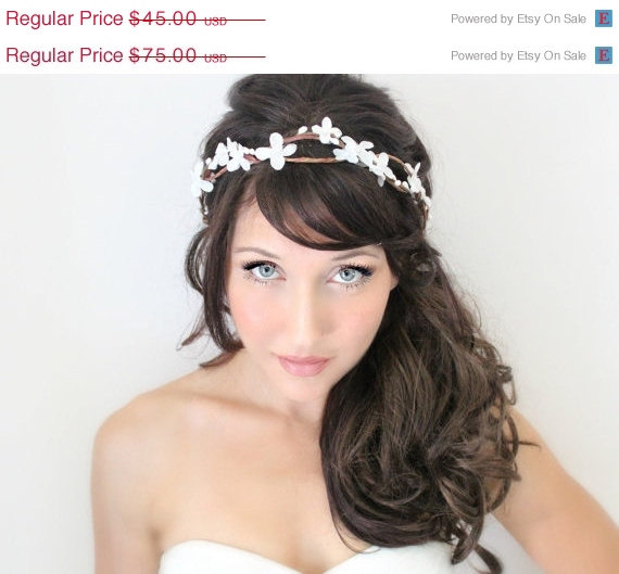 SALE Bridal Headband 2b8058dcf76