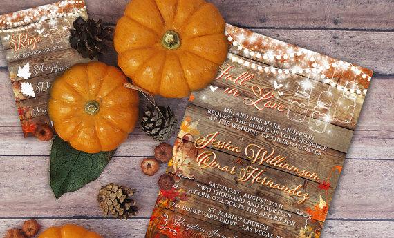 Mariage - Rustic Wedding Invitation