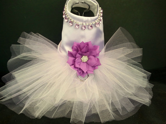 Small To 4xlarge Dog Dress Tutu Harness Wedding
