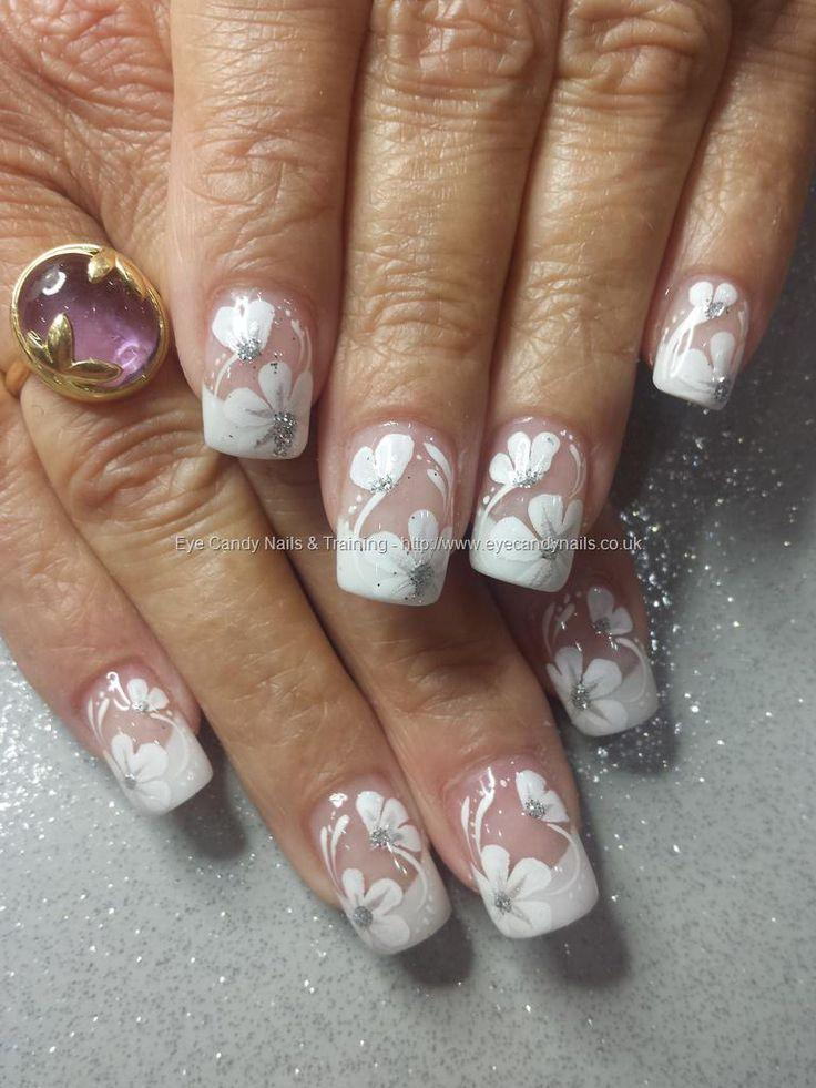 Eye Candy Nails Training White Acrylic Tips With One Stroke
