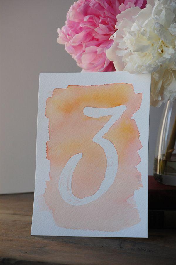 Свадьба - 20 Gorgeous DIYs With Watercolor