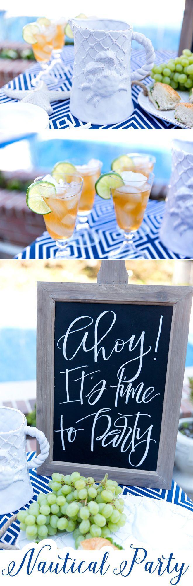 زفاف - Nautical Party Style & Mud Pie Faves