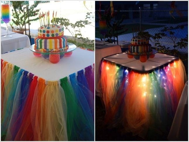 Свадьба - 5 Fabulous Table Skirt Ideas For Parties And Weddings