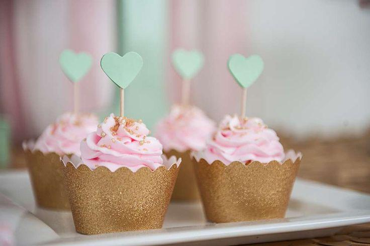 Wedding - Pink And Gold Bridal/Wedding Shower Party Ideas