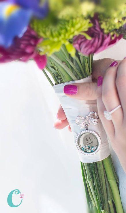 Bouquet Fleur Origami Owl Bridal 2349858 Weddbook