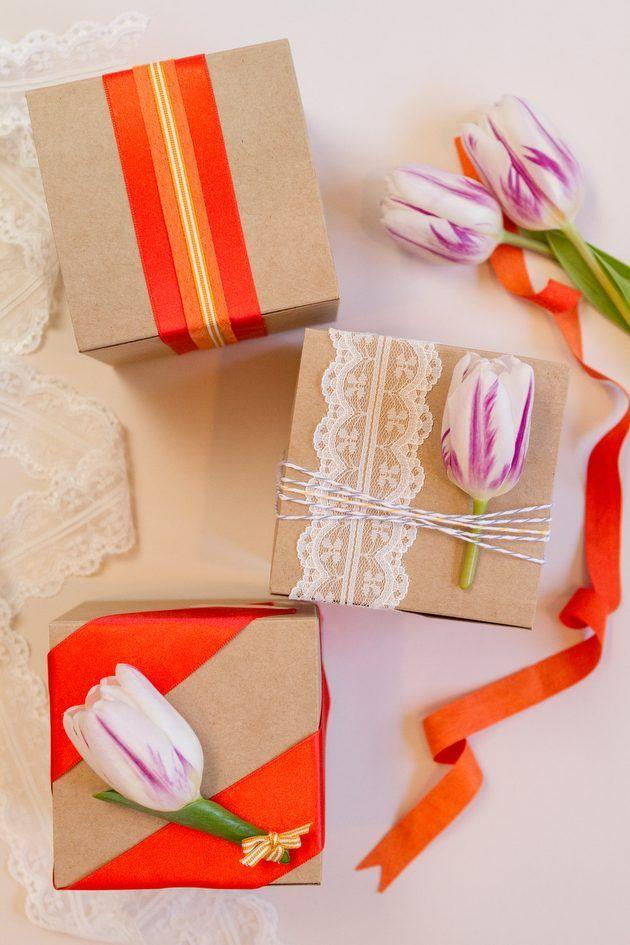 3 Charming Wedding Favor Wrapping Ideas For Spring 2350000 Weddbook