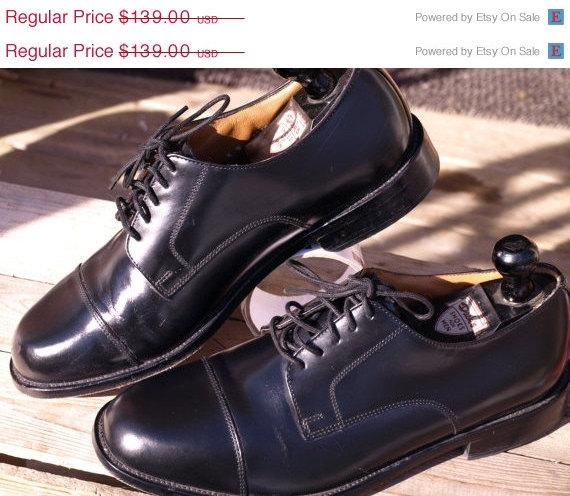 Sale Bostonian Luxe Cap Toe Blacksize 9 Leather Upper Leather