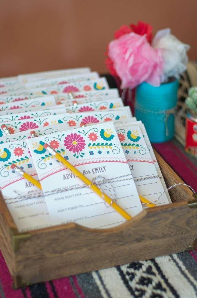 Свадьба - Mexican Fiesta Bridal/Wedding Shower Party Ideas