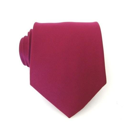 زفاف - Spiced Wine  Berry Bouquet Necktie - Inspired by David's Bridal's Spiced Wine Silk Tie