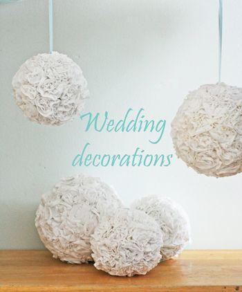 Hochzeit - Wedding Decorations