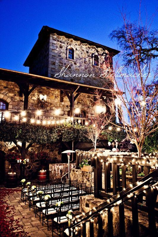 Mariage - Vineyard Wedding...wow. I Would LOVE This.