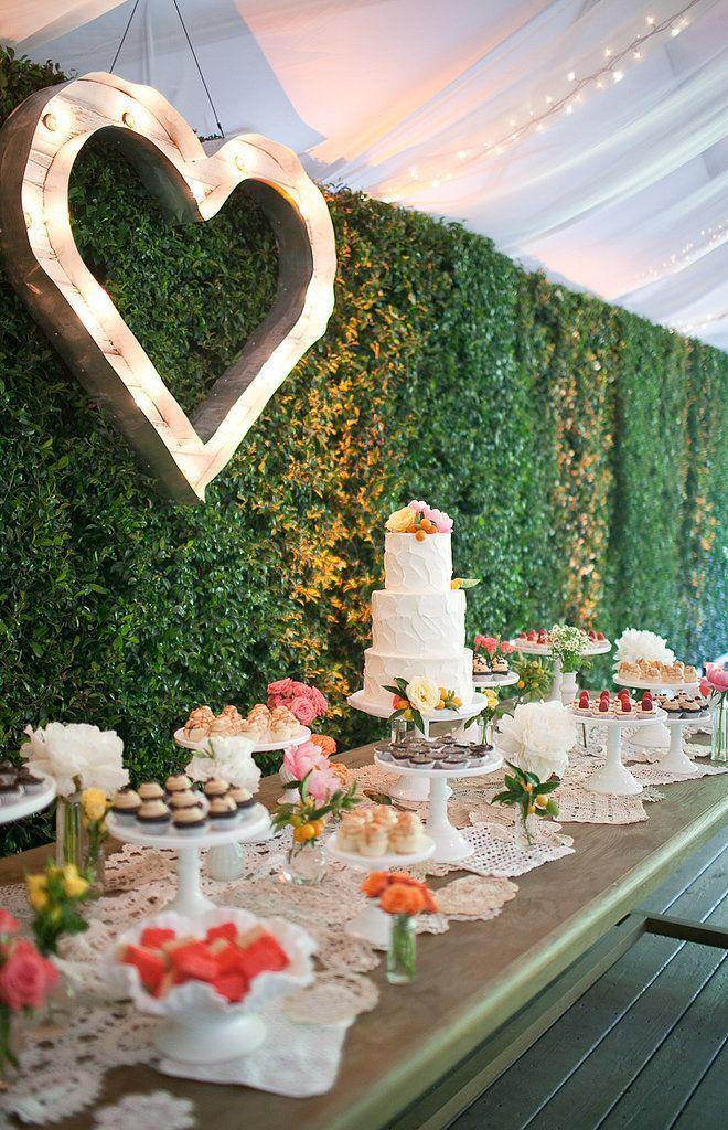 Hochzeit - Dessert Table Marquee