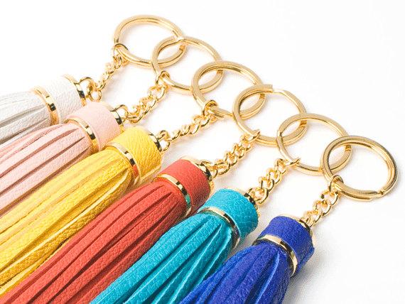 Tassel Leather Keychain 7cf17f465