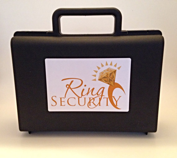 Mariage - Gold Ring Security Briefcase for Ring Bearer