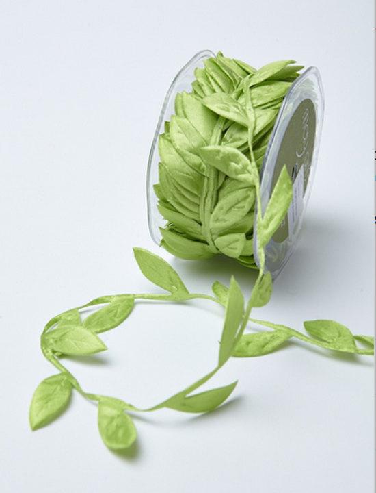 Hochzeit - Ribbon. Green  Leaf Ribbon. Wedding Favors  Bow Supplies DIY Wedding Gift Wrap Favor Box Ribbon Craft Sewing DIY Wedding Bouquet
