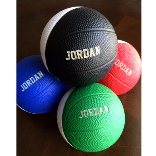 Wedding - Personalized Custom Two Tone Mini Foam Basketball Groomsman, Best Man, Ring Bearer, Usher, Wedding Baby Birth Announcement, Sports Team Gift