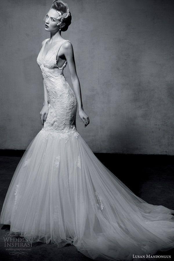 Hochzeit - Lusan Mandongus 2013 Wedding Dresses