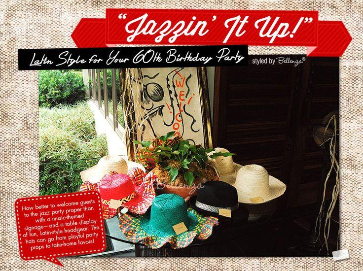 How To Host A Jazz Themed 60th Birthday Party With Latin Vibe