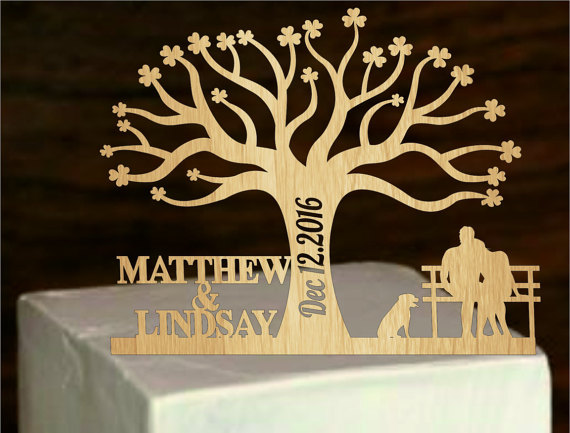 Rustic Cake Topper A Tree Of Life,Custom Wedding Cake