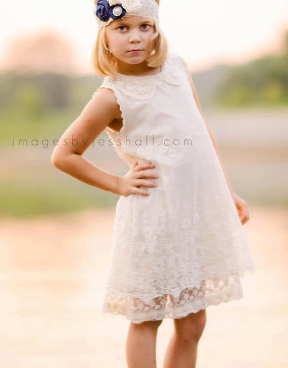 5d9cd169751 flower girl dress ivory flower girl dress girls lace dress lace dress  toddler lace dress boho flower girl dress flower girl dress lace