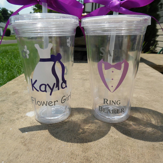 how to ask flower girl and ring bearer