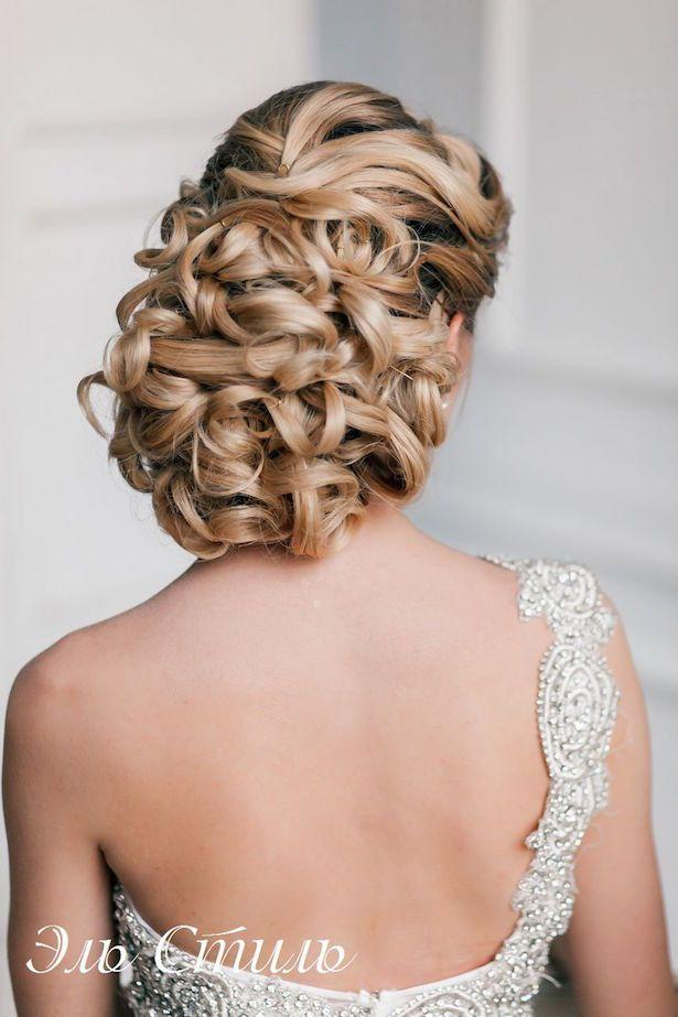 Top 20 Fabulous Updo Wedding Hairstyles: Fabulous Wedding Hairstyles: Bridal Updos #2352019